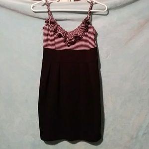 form fitting mini dress
